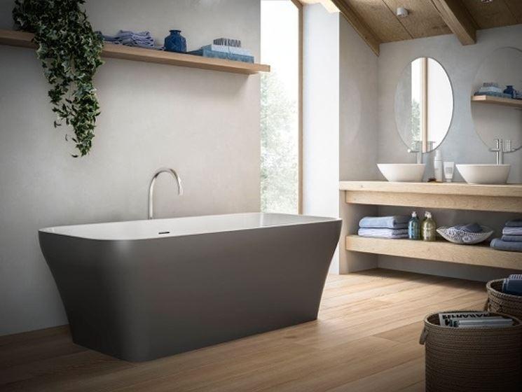 Come arredare un bagno in stile moderno 100casa - Arredare il bagno moderno ...
