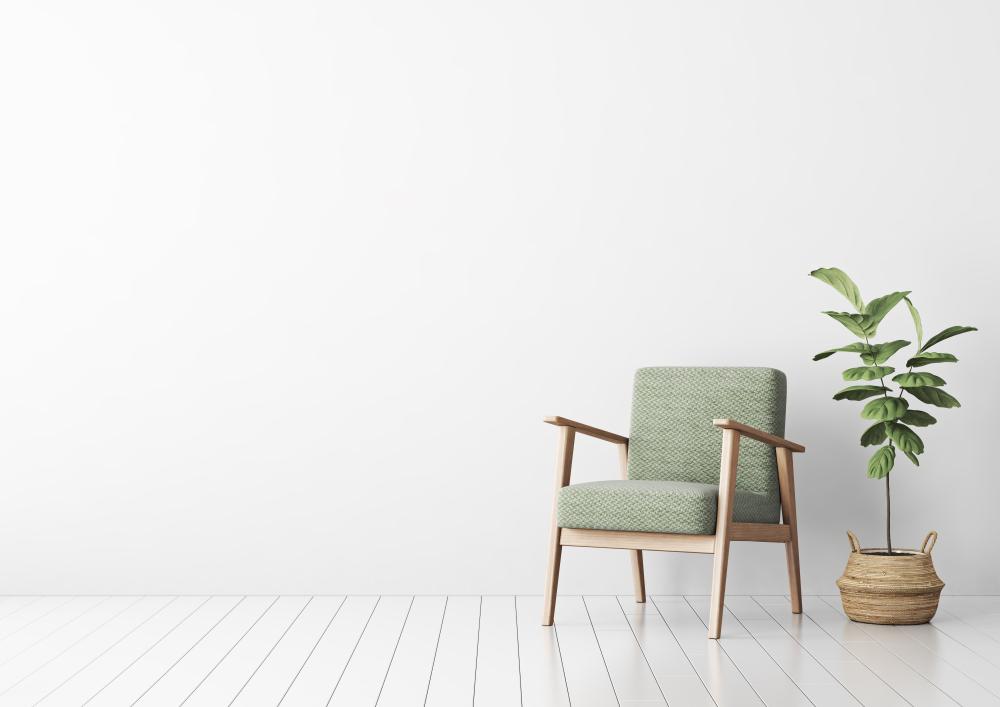 Sedie con braccioli e sgabelli moderni: una casa allinsegna dello