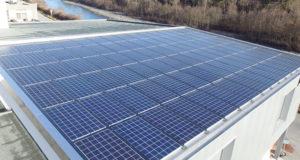 copertura tetto con il fotovoltaico